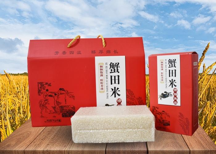 蟹田米礼盒
